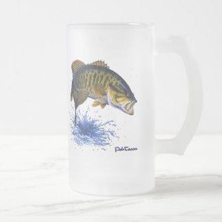 Smallmouth Bass leaping Coffee Mug
