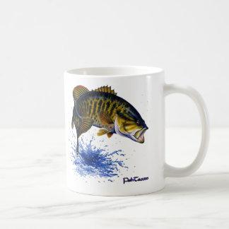 Smallmouth Bass leaping Mug