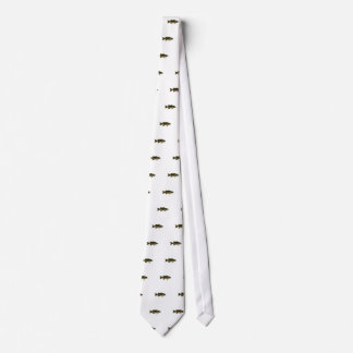 Smallmouth Bass Logo Tie