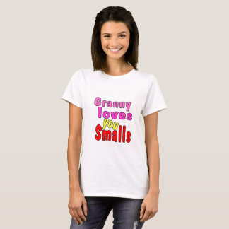 Smalls Collection - Granny's Pink T-Shirt Design