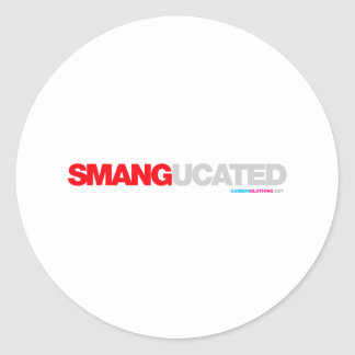 Smangucated Round Sticker