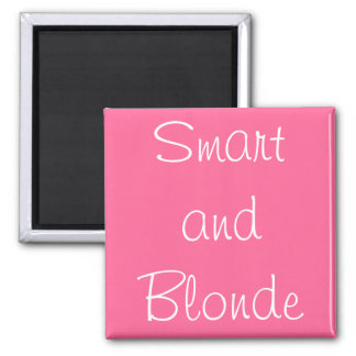 Smart and Blonde Magnet
