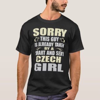SMART AND SEXY CZECH GIRL T SHIRTS
