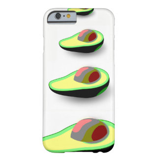 Smart Avocado pattern Vegan iPhone6 Case