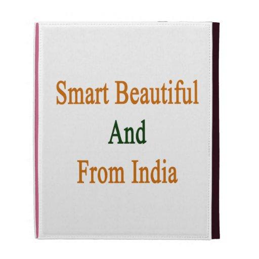Smart Beautiful And From India iPad Folio Case