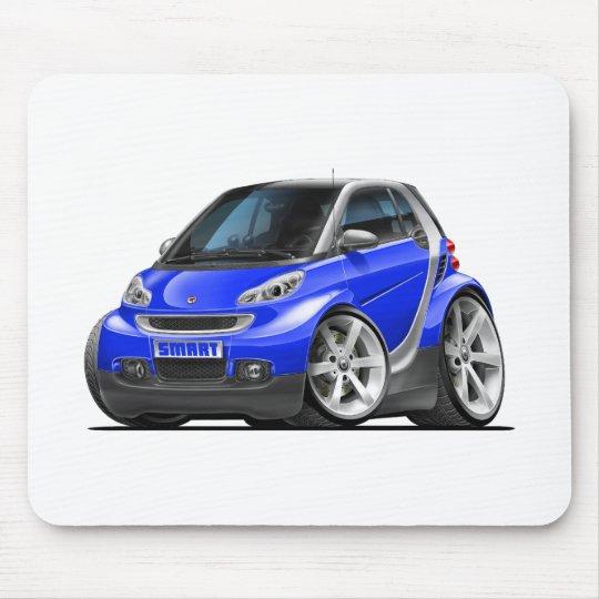 Smart Blue Car Mouse Mat