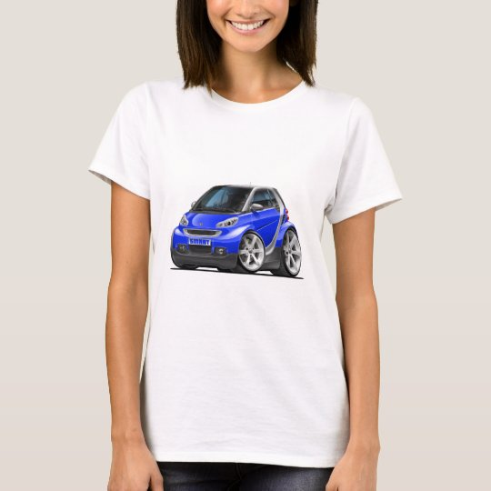 Smart Blue Car T-Shirt