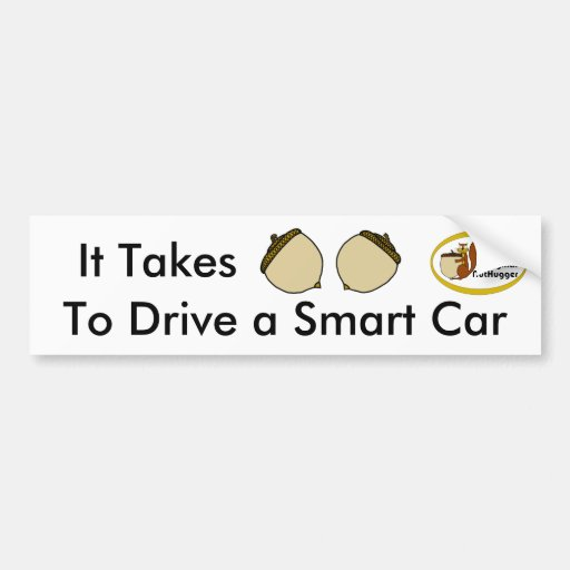 Smart Car Bumper Sticker
