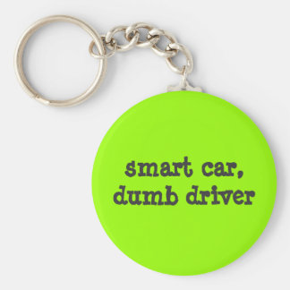 smart car, dumb driver key ring