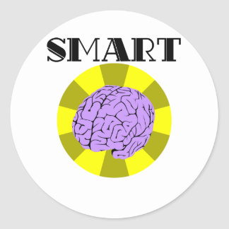 Smart Classic Round Sticker