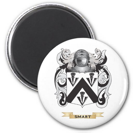 Smart Coat of Arms (Family Crest) Refrigerator Magnet