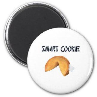 smart cookie 6 cm round magnet