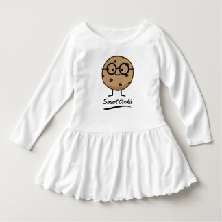 Smart Cookie Chocolate Chip Cookies Glasses Dress
