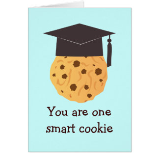 Smart Cookie Graduation Greeting Card