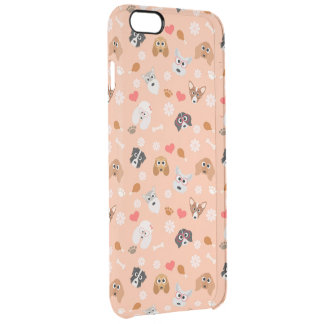 Smart Dogs Clear iPhone 6 Plus Case