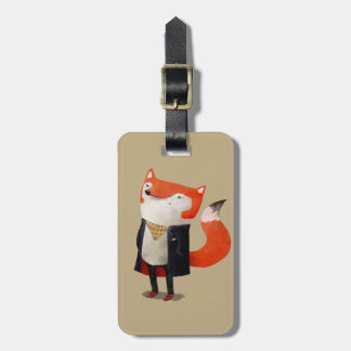 Smart Fox Luggage Tag