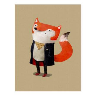 Smart Fox Postcard