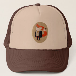 Smart Fox Trucker Hat