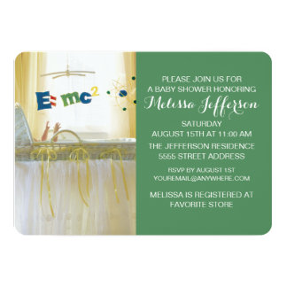 Smart from the Start New Baby Card