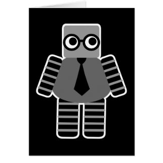 Smart Geek Robot Notecards Note Card
