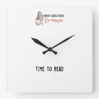 Smart Girls Read Romance Time to Read Clock