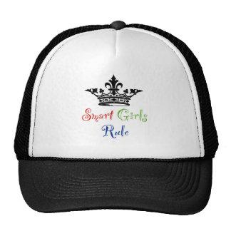 Smart Girls Rule with Crown Trucker Hat