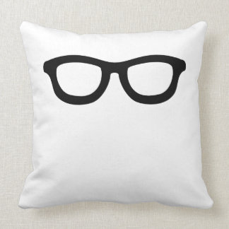 Smart Glasses Throw Pillow