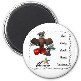 Smart & Good Looking 6 Cm Round Magnet