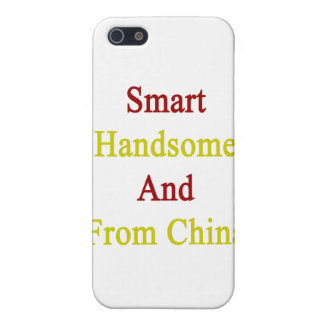 Smart Handsome And From China iPhone 5 Cover