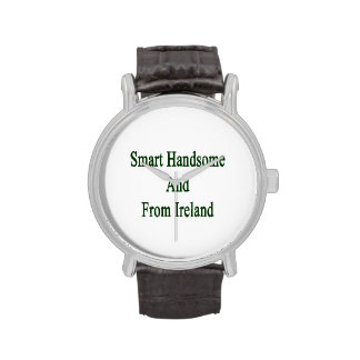 Smart Handsome And From Ireland Wrist Watch