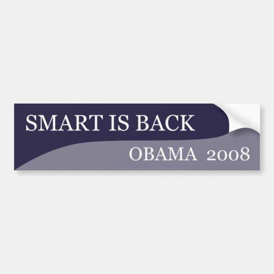 Smart is Back Bumper Sticker