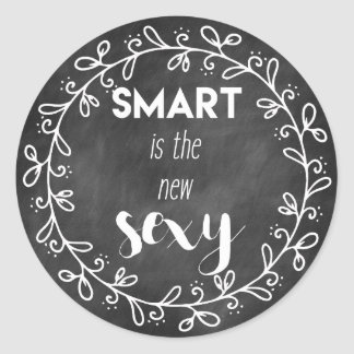 Smart is the new sexy - Funny Graduation Stickers