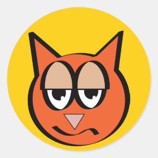 Smart Kat Sticker