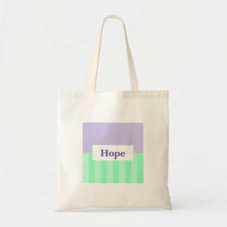 Smart Looking Hope Budget Tote Bag