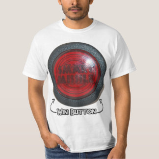 Smart Missile - Win Button T-Shirt