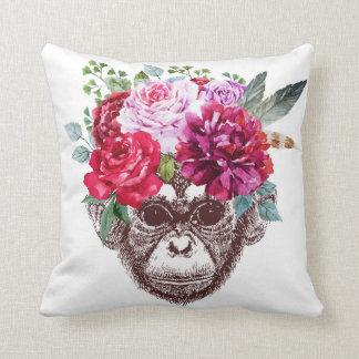 Smart monkey pillow (White)
