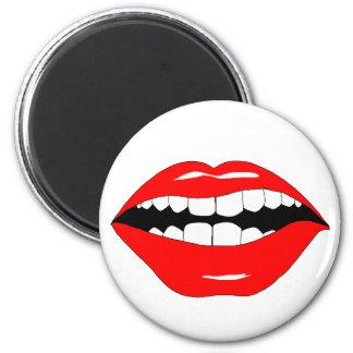 Smart Mouth Fridge Magnet