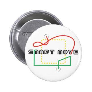 Smart Move 2009 FLL 6 Cm Round Badge