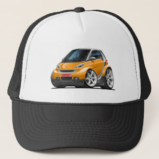 Smart Orange Car Trucker Hat