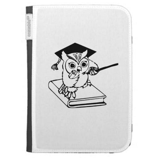 Smart Owl on Book Kindle 3G Case