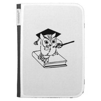 Smart Owl on Book Kindle 3G Covers