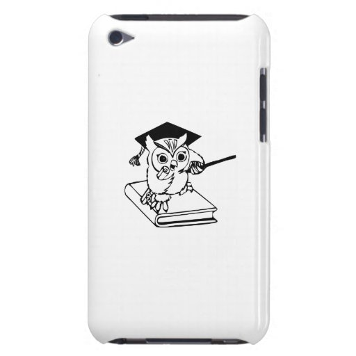 Smart Owl on Book Case-Mate iPod Touch Case