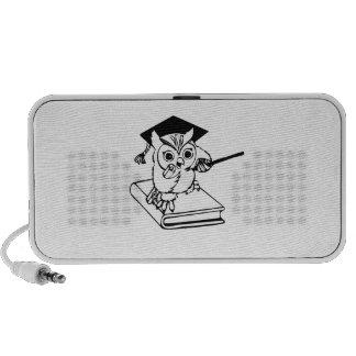 Smart Owl on Book PC Speakers