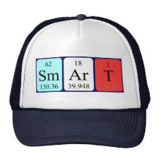 Periodic table Smart hat