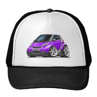 Smart Purple Car Trucker Hats
