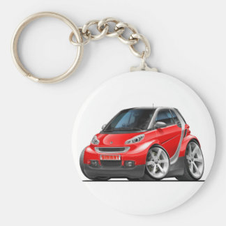 Smart Red Car Key Ring