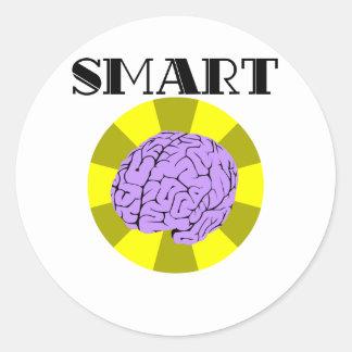 Smart Round Sticker