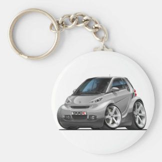 Smart Silver Car Key Ring