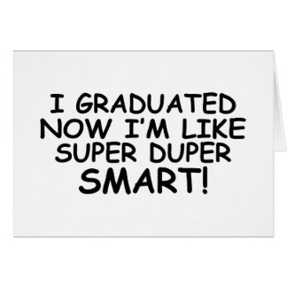 Smart Stuff Graduation Cards