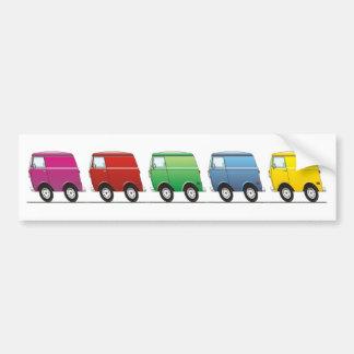 Smart Van Multiple Bumper Sticker